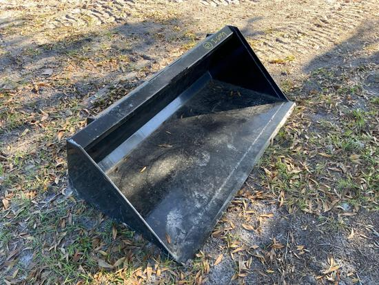 Unused 60in Skid Steer GP Bucket