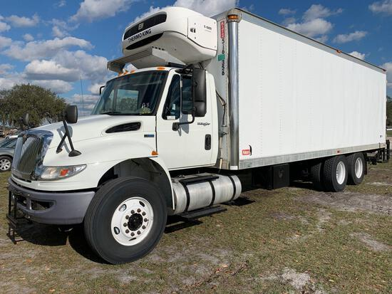 26 FT. 2013 International DuraStar 4400 Thermoking T/A Reefer Box Truck