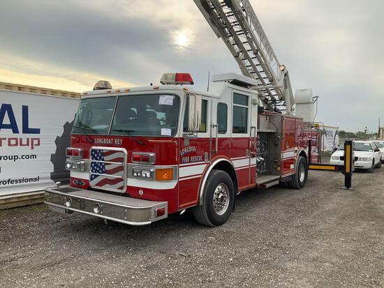 2003 Pierce 75ft Aerial Ladder Fire Truck