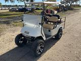 E-Z-Go 48V Lifted High Speed 4 Passenger Golf Cart