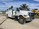 2015 Ford F-750 Mechanics Crane Truck