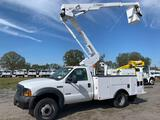 2006 Ford F-550 4x4 43ft Over Center Bucket Truck