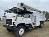 GMC C5500 Forestry Bucket Chip Truck