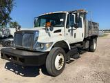 2007 International 7400 Crew Cab Dump Truck