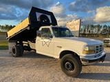 1996 Ford F-Super Duty Flatbed Dump Truck