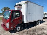 16 FT. 2014 Isuzu NPR-HD Carrier 30S Reefer Box Truck