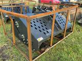 Unused Wolverine Skid Steer Debris Rake