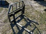 Unused Kivel Skid Steer 42in 2000lb Forks and Frame