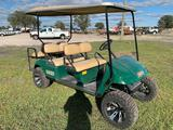 E-Z-Go 48V Lifted 6 Passenger Shuttle Cart