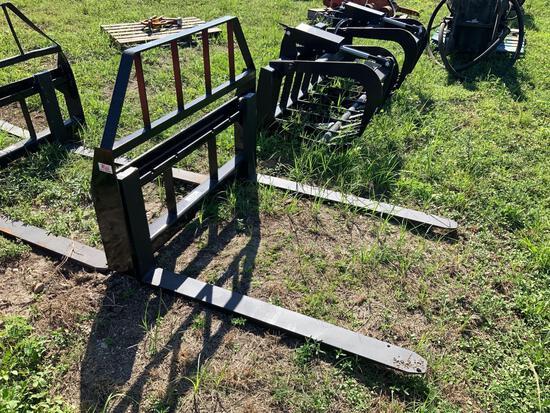 Unused 48in Skid Steer Forks - Kivel