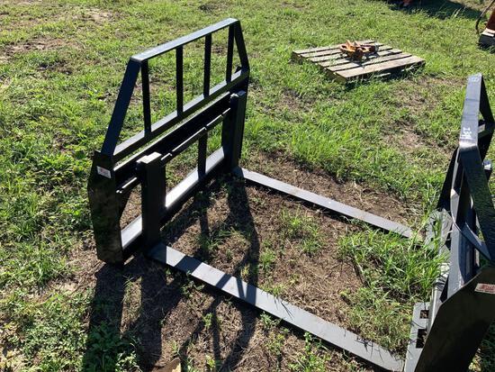Unused 48in Skid Steer Forks- Kivel
