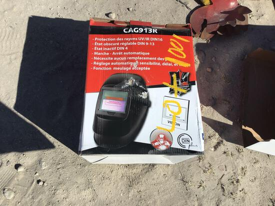 Unused Auto Welding Helmet