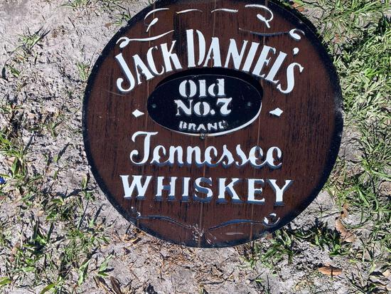 Jack Daniels Tennessee Whiskey Metal Sign