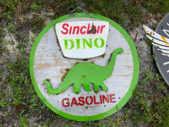 Sinclair Dino Sign