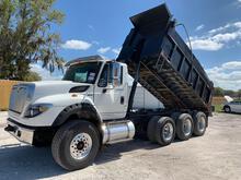 2013 International WorkStar 7600 Tri-Axle Dump