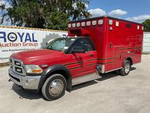 2011 Dodge Ram Ambulance Truck