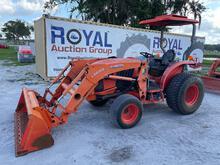 2014 Kubota L4760 HST 4WD Front End Loader Tractor