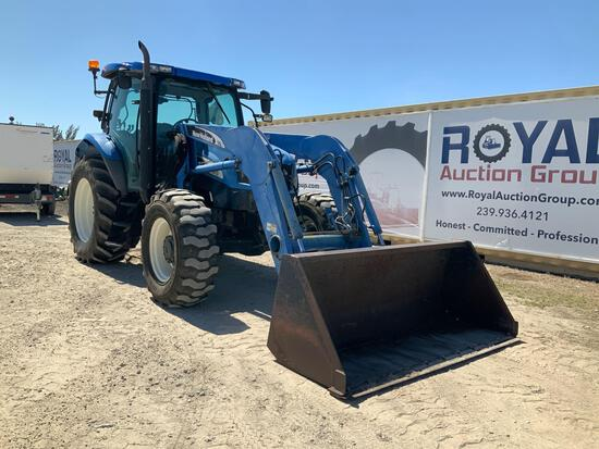 New Holland TS115A 4x4 Front End Loader Tractor