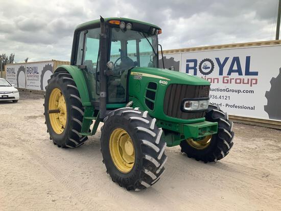 2010 John Deere 6430 4x4 Tractor