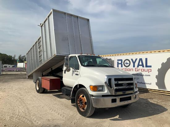 2006 Ford F-650 Forestry Chipper Dump Truck