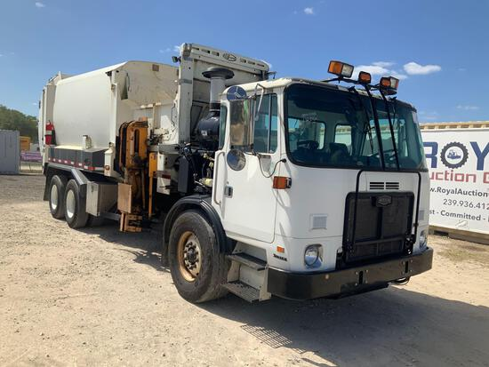 2011 Autocar Xpeditor Side Loader T/A Garbage Truck