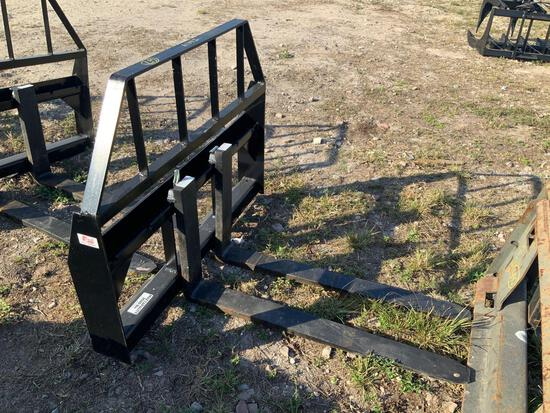 Unused 42in Kivel Pallet Forks and Frame