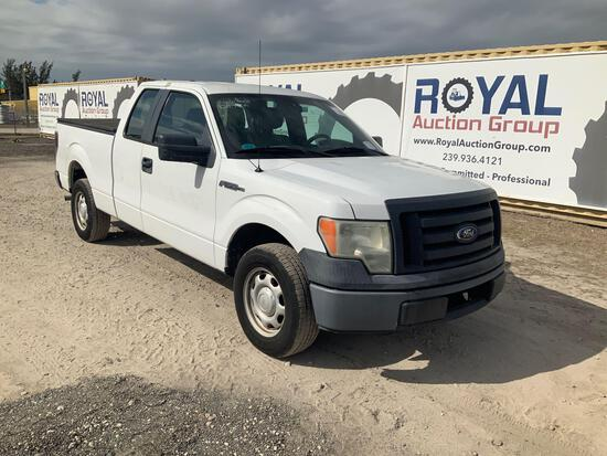 2010 Ford F-150 Extended Cab Pickup Truck,