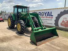 2002 John Deere 7210 4x4 Tractor with Loader