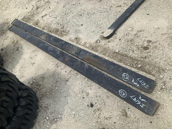 Unused 10ft Fork Extensions