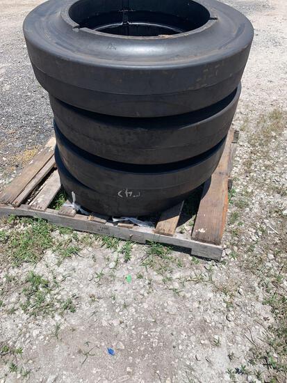 Forklift tires 395x85x20x10