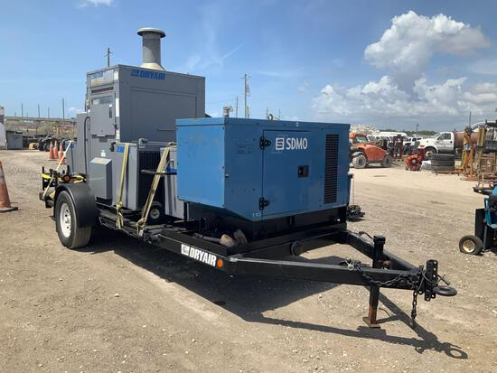 Trailer Mounted Dry Air Heating System