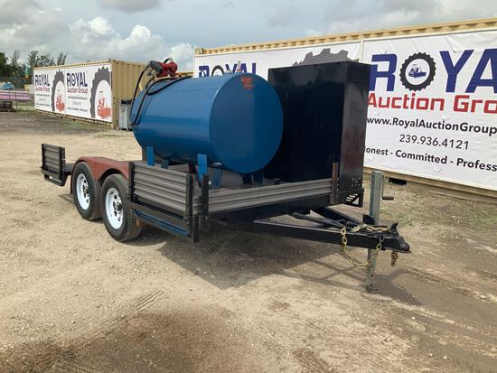 2021 Event Machine Inc. ST-712 Flatbed Trailer with Fuel Tank