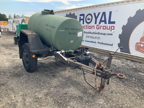 1986 Aero Welding 400gal Water Tank Trailer