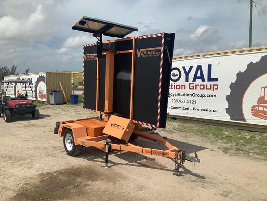 2008 Ver-Mac PCMS 1500 Trailer Mounted Message Board