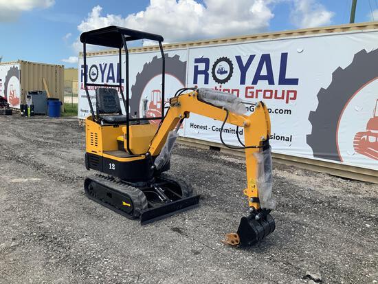 2021 Unused Agrotk YM10 Mini Excavator