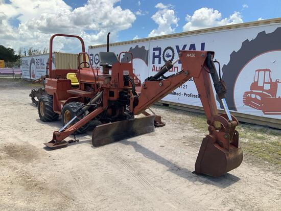 2001 Ditch Witch 5110DD Trencher Backhoe