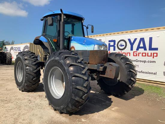 2014 New Holland TS6.120HC 4x4 Tractor