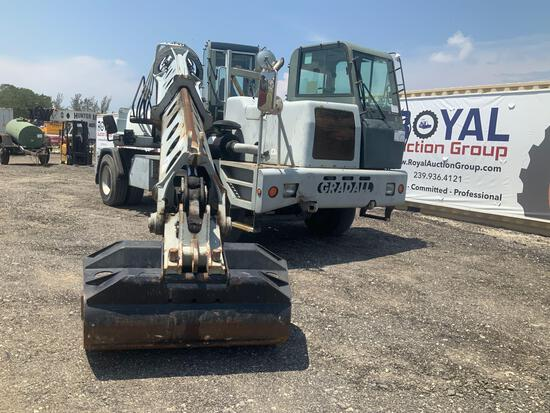 2006 Gradall XL3100 Highway Grading Wheeled Excavator
