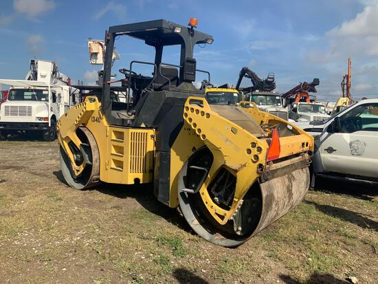 2010 Bomag BW151 AD-4 Tandem Smooth Drum Vibratory Roller