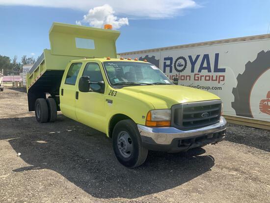 1999 Ford F-350 Dump Truck