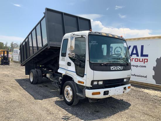 2001 Isuzu FRR Horticulture Dump Truck