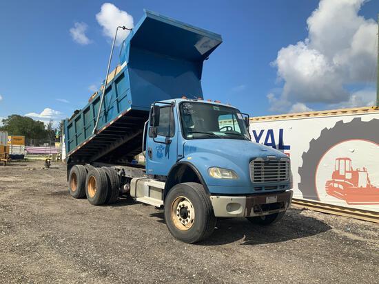 2005 Freightliner M2 106 T/A Dump Truck