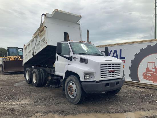 2007 GMC C8500 T/A Dump Truck