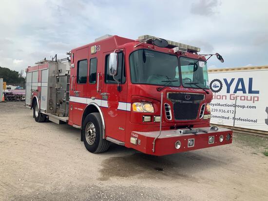 2008 Spartan GA41L-2142 1500GPM Pumper Engine Fire Truck