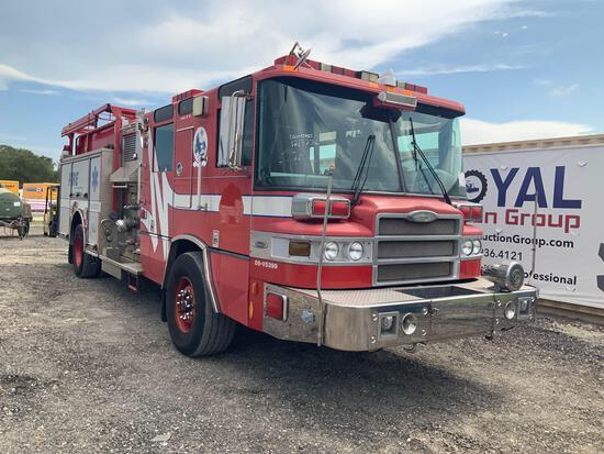 2005 Pierce Quantum 1500GPM Pumper Fire Truck