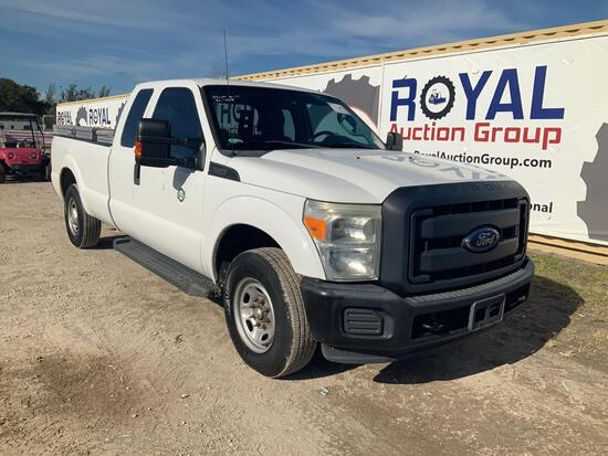 2013 Ford F-250 Extended Cab Pickup Truck