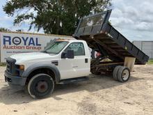 2008 Ford F-550 Dump Truck
