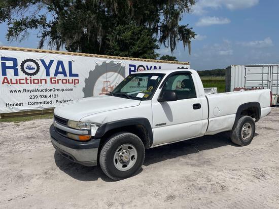 2001 Chevrolet Silverado 2500 Pickup Truck