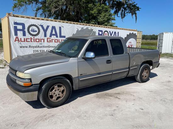 2000 Chevrolet Silverado Pickup Truck