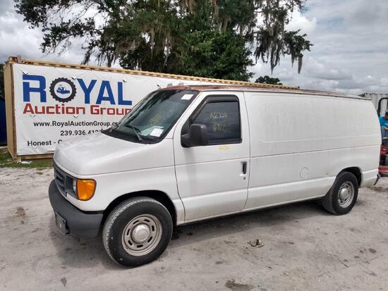 2004 Ford Econoline E-150 Cargo Van